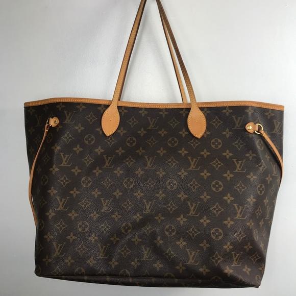 Louis Vuitton Handbags - Authentic Louis Vuitton Monogram Neverfull GM TOTE 4a02fc4ec3a97